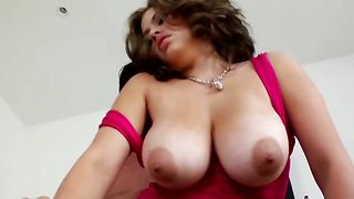 Naughty busty honey Selena Castro enjoys fucking hard and fast