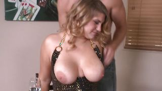 Marvelous Jordyn Peaks with curvy tits gladly bends over for the firm big fang