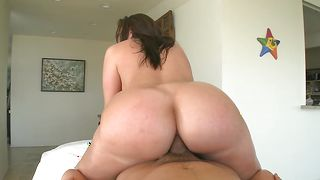 Staggering Kelly Divine with curvy tits gladly receives a throbbing schlong