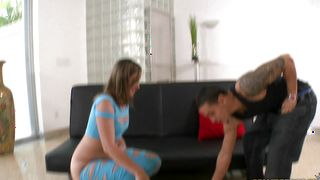 Stupendous Briella Bounce with impressive tits was desperate to get fucked until she cums