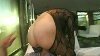 Wanton busty Valerie Kay is riding fucker's rock hard dick