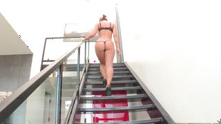 Magical brunette gal Jada Stevens with firm tits gets rough pounding from pal