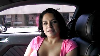 Stupendous latin Amy Lopez with firm tits is picked up by the perverted stud