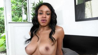 Fanny drilling for goluptious diva Anya Ivy with big tits