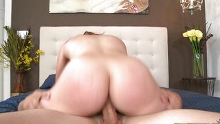 Swingeing brunette maiden Lacey Vega with great tits likes rough fuck