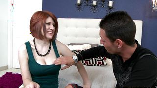 Appealing busty Velma Dearmond receives a screaming doggy style action