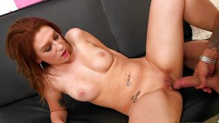 Worshipped busty Sasha Summers rubs her clit while being doggy styled