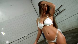 Dangler hungry delectable busty darling Cristiane Fatally gets totally annihilated by a stud