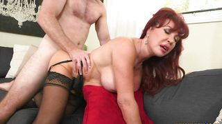 Mesmerizing busty latin Vanessa Bella goes crazy on the playmate's big hard fang