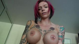 Voluptous maid Anna Bell Peaks with curvy tits loves to be doggy styled by male's tool