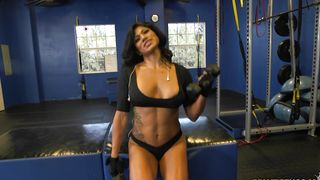 Busty latin Xo Rivera is slutty and ready for some hot ramming