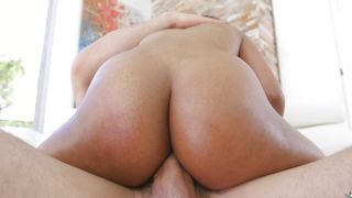 Love rocket loving cute busty ebony sweetheart Brittney White is sucking like a pro only if she likes a stud a lot