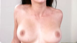 Beguiling Cyrstal Rae with massive tits gets destroyed by her pussy tester