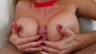 Stranger got a nice blowjob from an appetizing blonde Parker Swayze with great tits and then he fucked her good