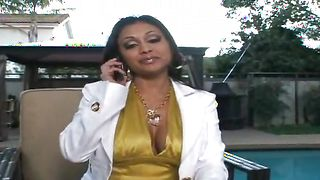 Vigorous chick Priya Rai with great tits is enjoying every inch of this dinky