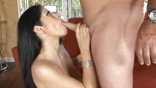 Raunchy busty Evie Delatosso gets fiercely plowed by buddy