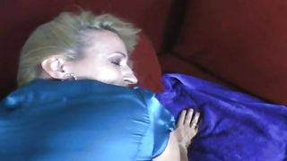 Remarkable blonde beauty Rebecca with great tits knows how to ride a penis passionately