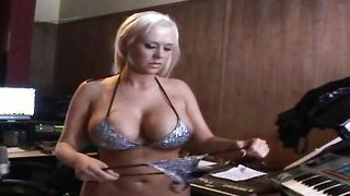 Lovely blonde Carly Parker with huge tits needs a good fuck on a daily basis from fuckmate