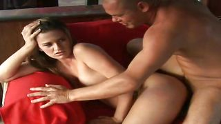 Salacious busty Taylor wants to suck love rocket before she goes to the party even if she is late a bit
