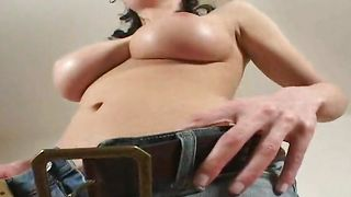 Overwhelming cutie Miriam with firm tits seducer gives her stranger a hardcore ride