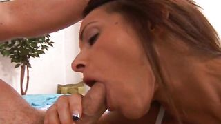 Rod hungry cute perfection Kristine Madison with huge tits gets totally annihilated by a hunk