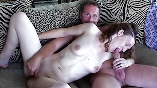 Lascivious busty brunette minx Kalina got throatfucked the way she could not even imagine