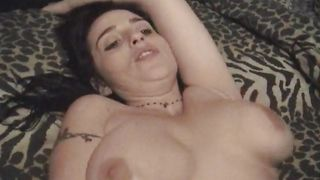 Cock loving adorable honey Corona with large tits is geting throatfucked and expecting a facial cumshot in the end