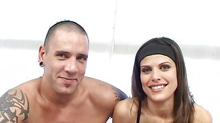 Wonderful Lola Del Valle with great tits receives a rough fucking