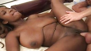 Magical brunette chick Sierra with massive tits receives a donga in her tight and wet cooter