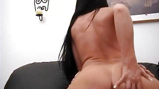 Sexual Cherokee with large tits gets her copher eaten by fucker