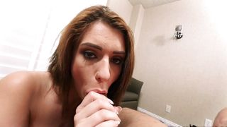 Beautiful girl Joseline Kelly with big natural tits i has full trust in her pal