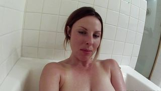 Slender honey Chrissy Sanders with big tits rewards stimulation to attractive fellow