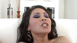 Lustful busty latin Jessica Bangkok enjoys being smashed hard by lover
