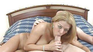 Sensual busty Roxy Ryder with wet cuchy is ready for some banging