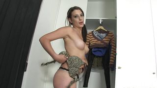 Stupefying Yarissa Duran with impressive natural tits moans loudly while being fucked pretty rough