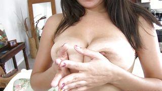 Experienced boyfriend destroys fresh busty Stacey Foxxx super hard