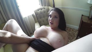 Cute chick Harmony Reigns with firm tits and stud get very