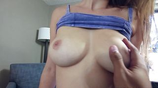 Breathtaking floozy Jade Nile with huge natural tits getting fucked and she loves the session
