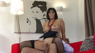 Worshipped busty Paige wants fellow to thrust his meat inside her