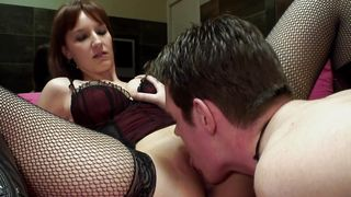 Remarkable busty Nyssa is eager to get her sissy ralove tunneled
